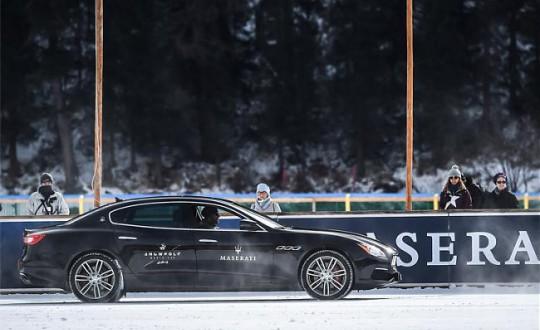 玛莎拉蒂总裁策马御风雪 新款总裁轿车亮相玛莎拉蒂2017年马球巡回赛首秀
