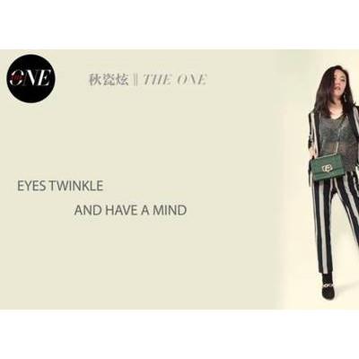 秋瓷炫穿着STELLA LUNA-FW19 CHAIN出镜《壹号》媒体拍摄 高级美感突显